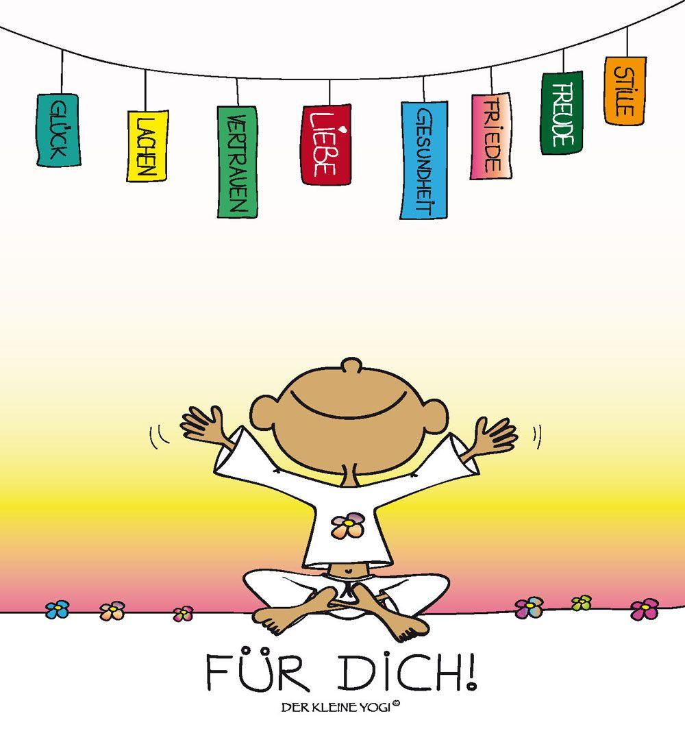 Fur Dich Der Kleine Yogi Aufmunternde Spruche Spruche Neues Jahr