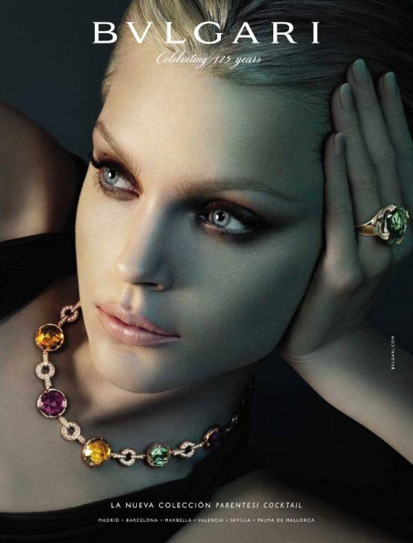 Picture Of Jessica Stam Jewelry Photoshoot Jewelry Ads Jessica Stam