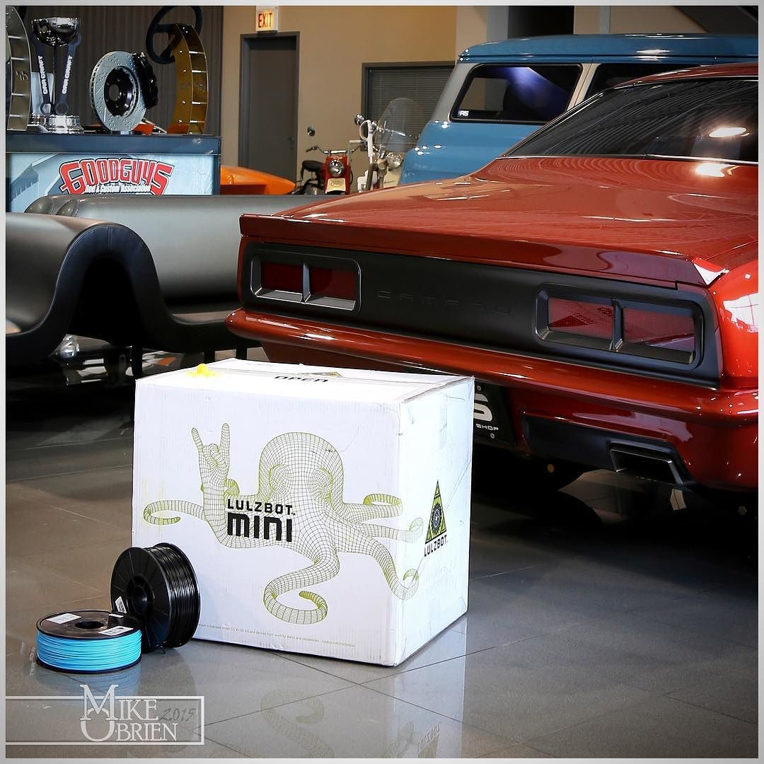 Something we liked from Instagram! Well this should be fun! #mikebuysa3dprinter #mikeprintsadatsun #mikebuildsadatsun #3dprinting #3dprinter #design #engineering #mechanicalengineering #3d #custom #chassis #customchassis #printeverything #camaro #protouring #cad #datsun620 #supra #celicasupra #lulzbot #lulzbotmini #roctopus #cantwait by 3d_magic_mike check us out: http://bit.ly/1KyLetq