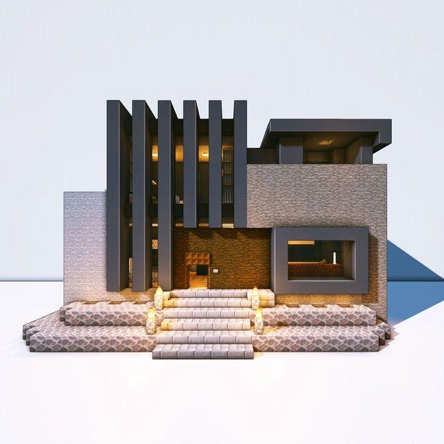 A luxury modern house