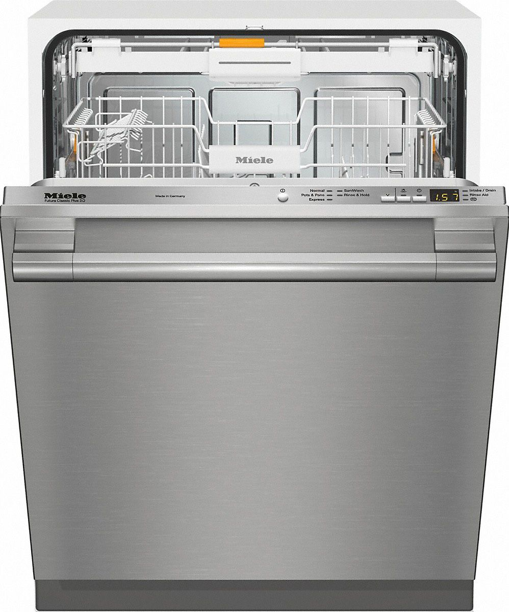 Miele Stainless Steel FullyIntegrated Dishwasher in 2020