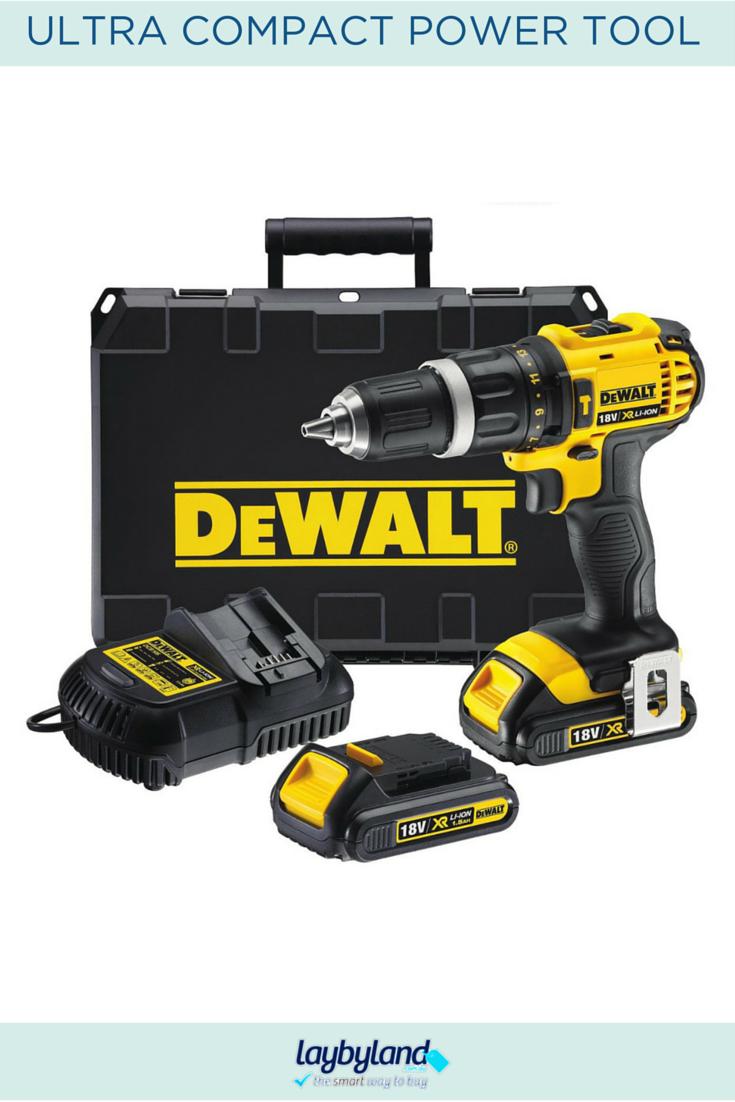 Layby Dewalt 18V XR Liion Compact Hammer Drill/Driver