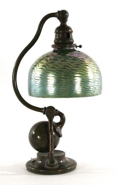 241 A Tiffany Studios Counterbalance Bronze Desk Lamp