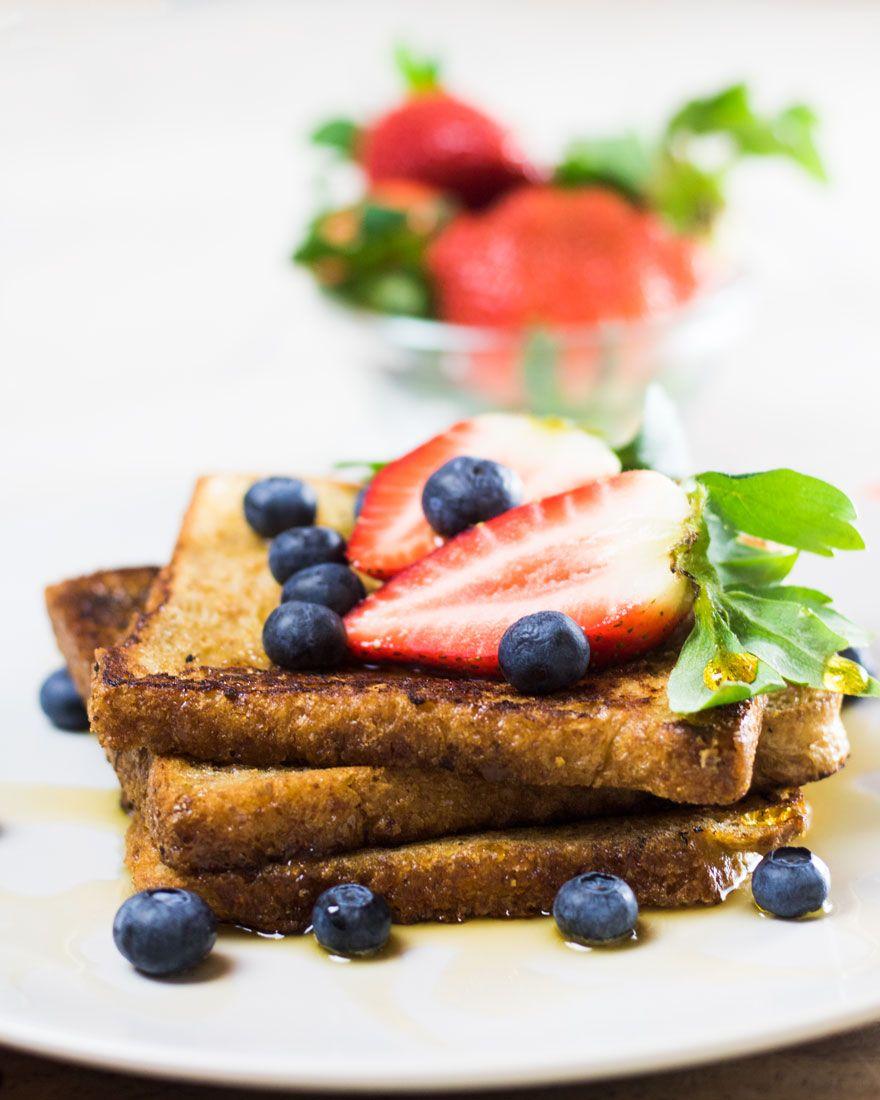 Veganes French Toast Vegane Wunder Rezept In 2020 Gefullter French Toast French Toast Rezepte
