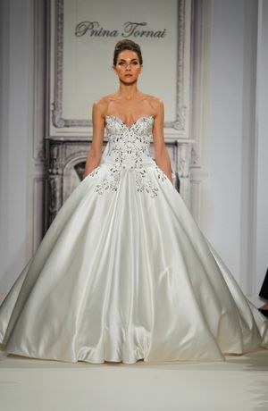 Pnina Tornai: Princess/Ball Gown Wedding Dress with Sweetheart ...