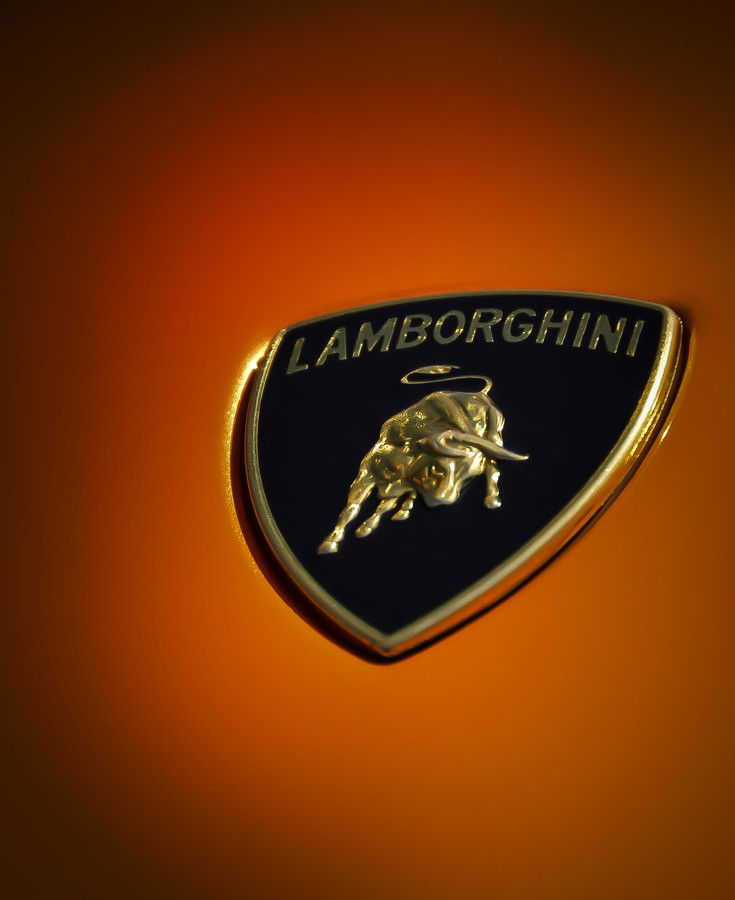 Lamborghini Murcielago Badge Emblem By C Ken Johnson Imagery On