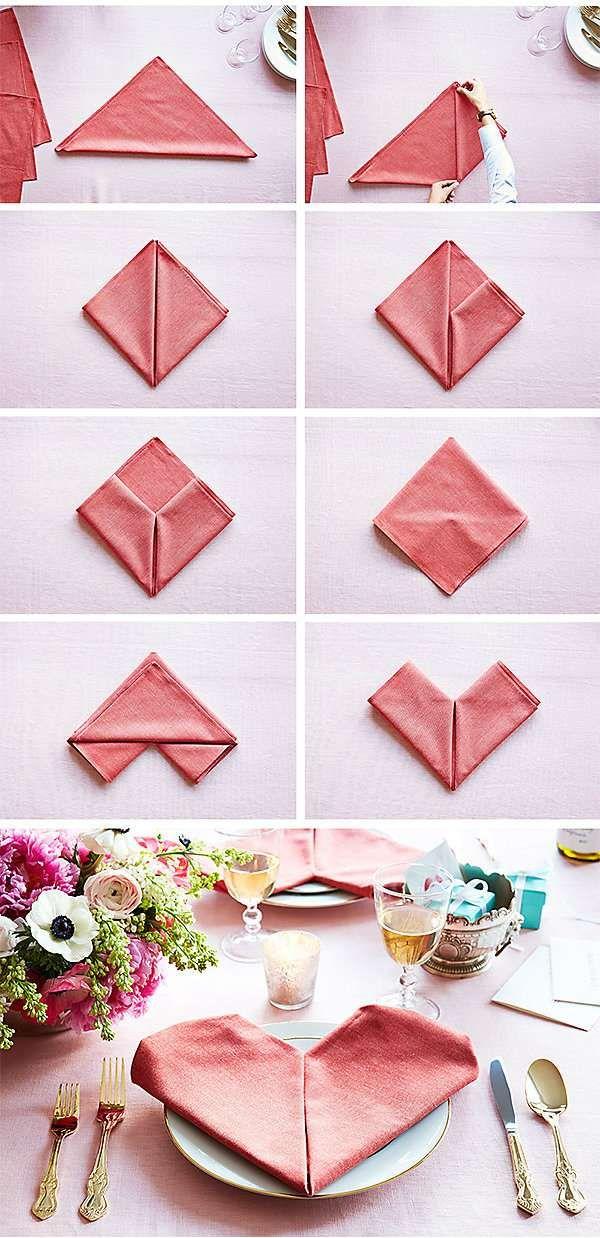 14 Pliages De Serviettes Faciles Pour Vos Magnifiques Tables De
