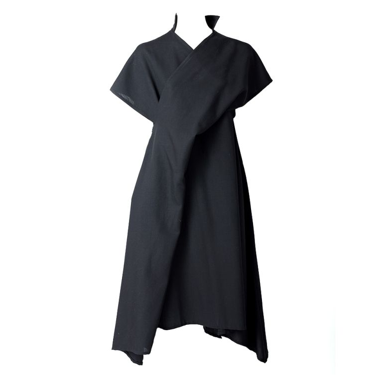 Yohji Yamamoto   From a collection of rare vintage day dresses at https://www.1stdibs.com/fashion/clothing/day-dresses/