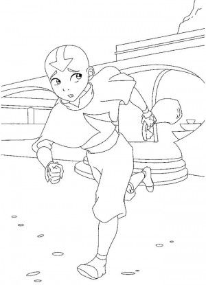 Avatar coloring page 5 | Avatar coloring book | Pinterest | Colorear ...