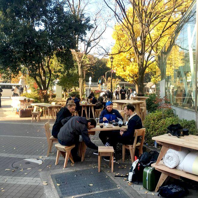 """フランス人アートユニット""""boijeot.renauld""""、TOKYOの街を横断中!"""