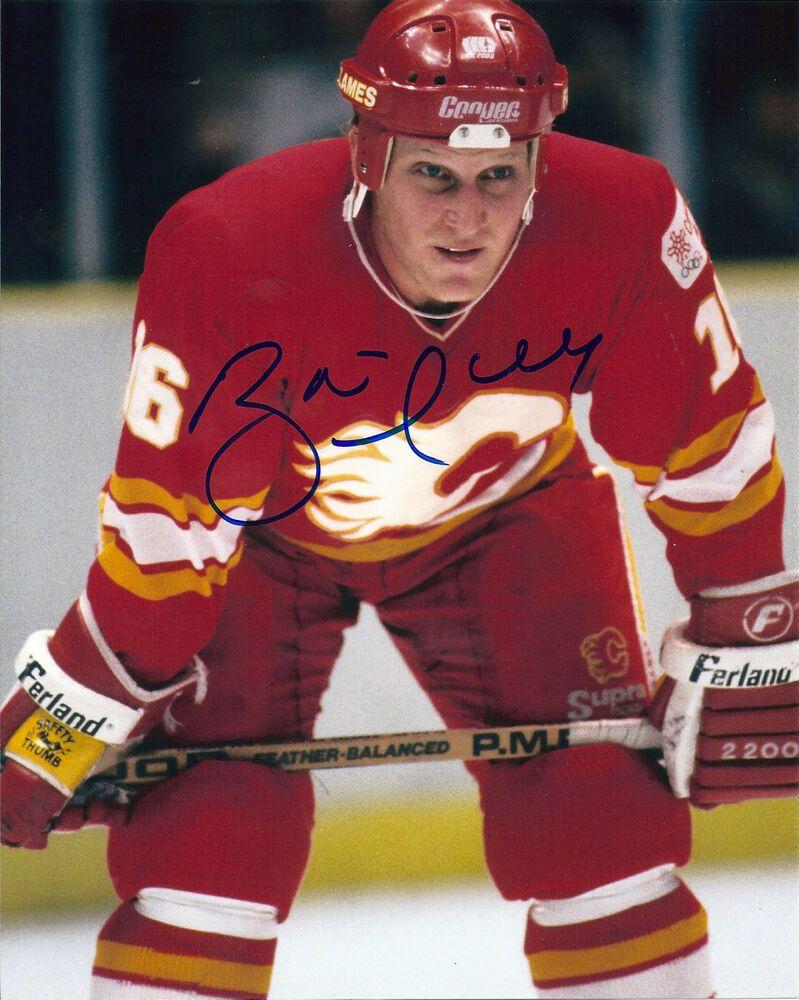 Brett Hull Signed Calgary Flames 8x10 Photo Ebay Calgary Flames Hull National Hockey League