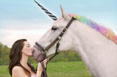Just a Girl and Her Unicorn