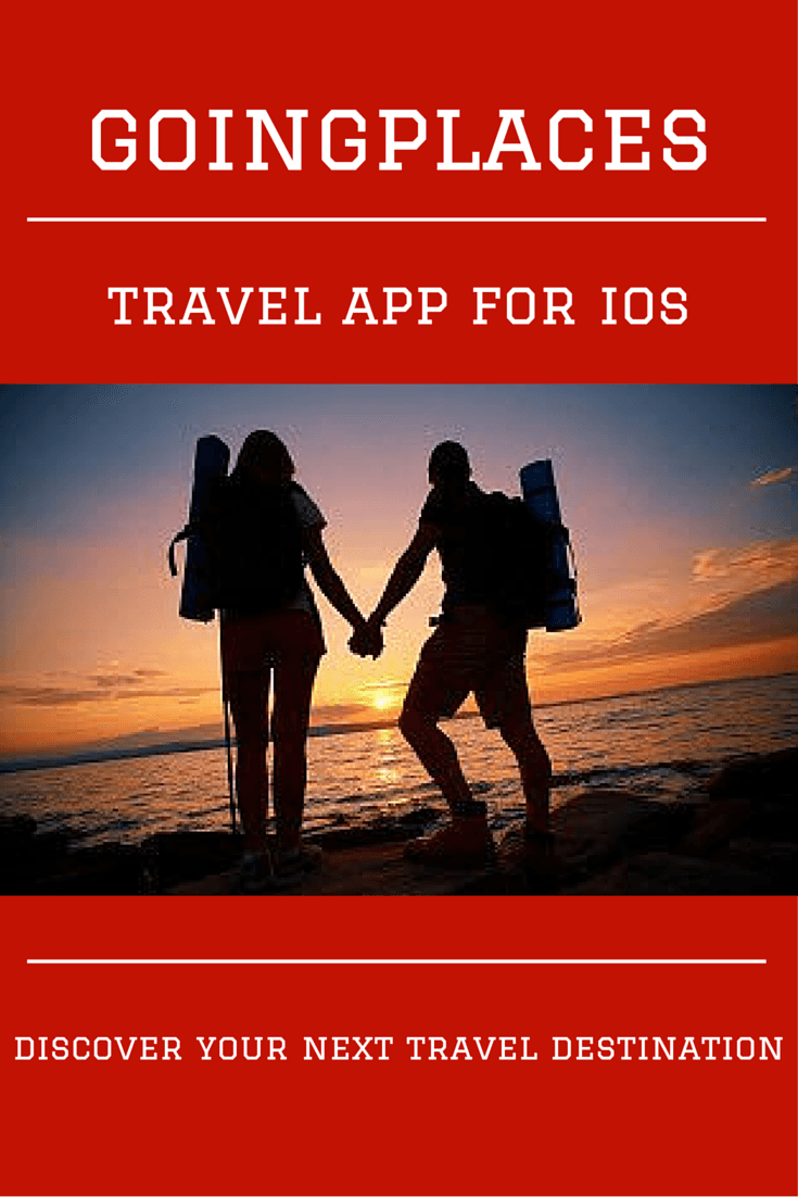 Check out GoingPlaces, a fantastic travel app for iOS that is designed to inspire and help you discover exciting new places for your next trip.