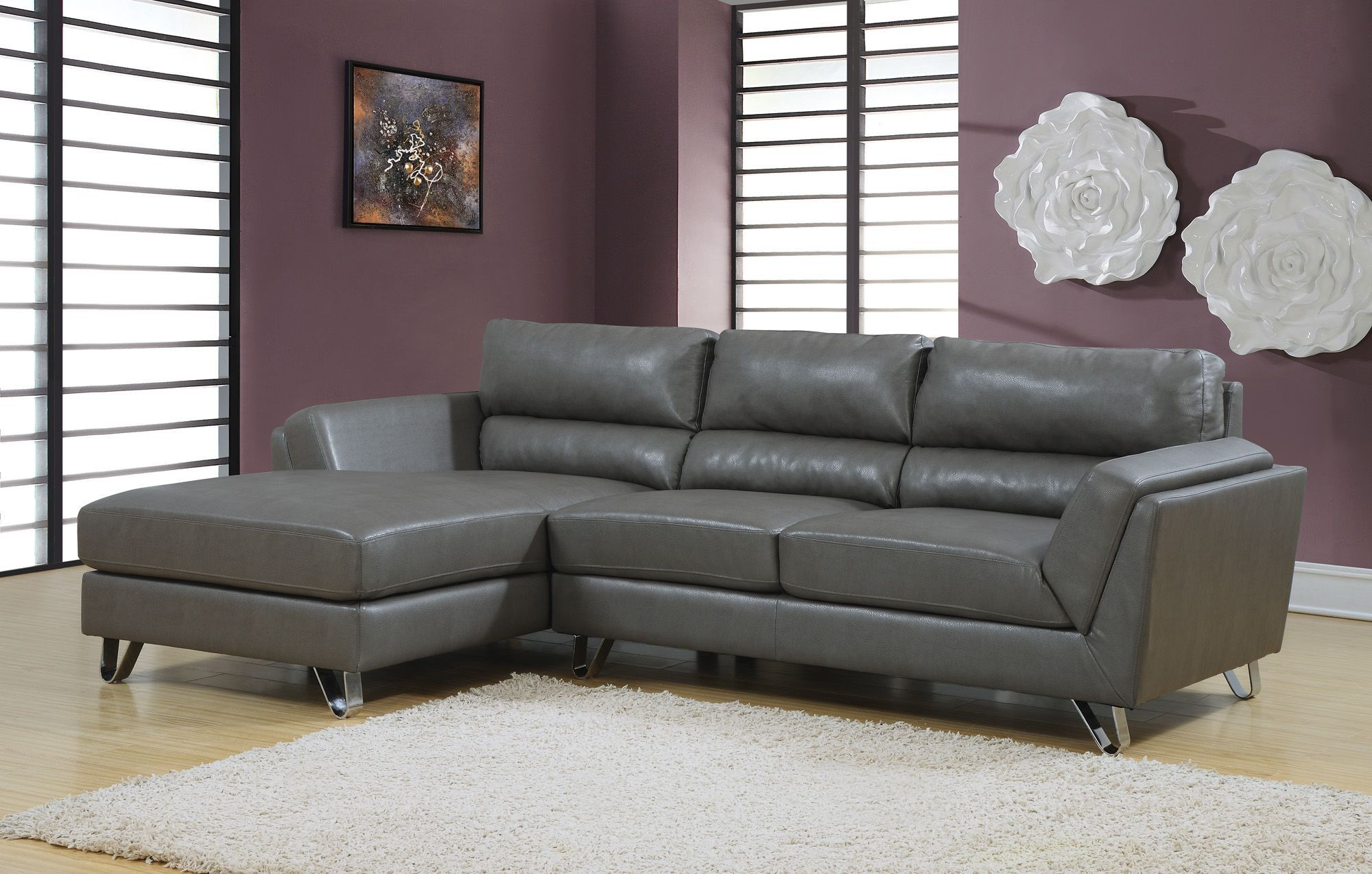 Charcoal Gray Match Sofa Sectional Sofas Federal Way Leather