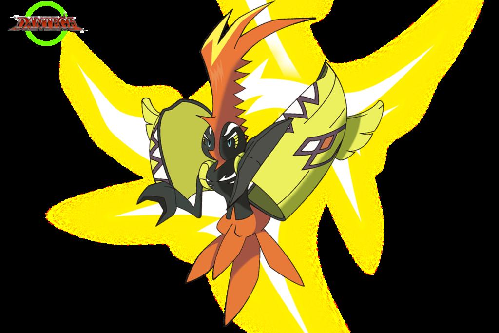Tapu Koko 1 By Dangf Pokemon Tcg Cards Pokemon Pokemon Tcg