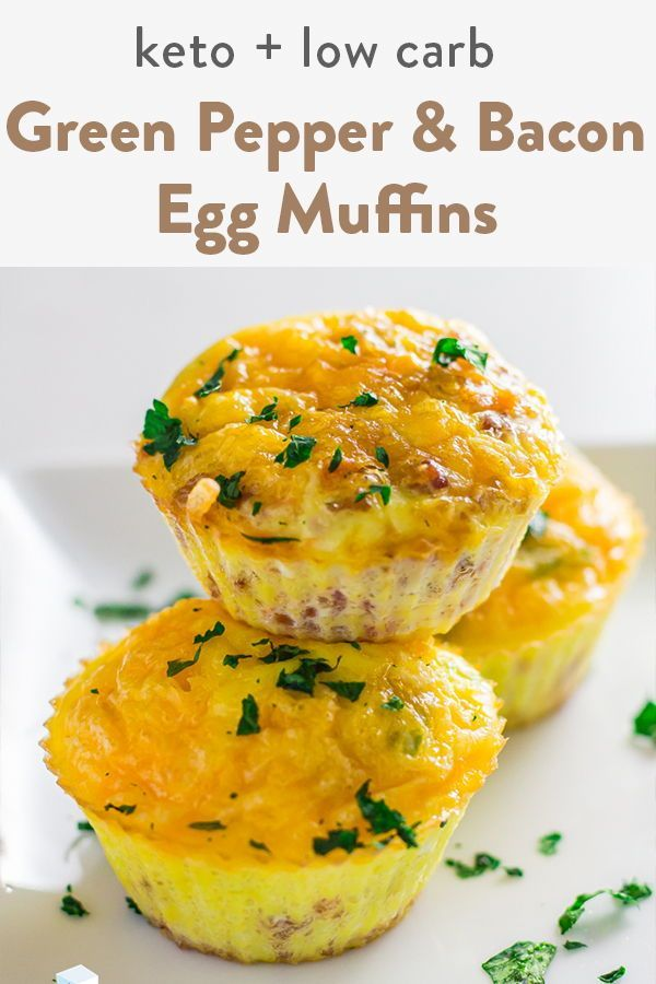 Keto Egg Muffins Low carb, keto egg muffins for an healthy breakfast meal. Add in bacon, ham, sausa