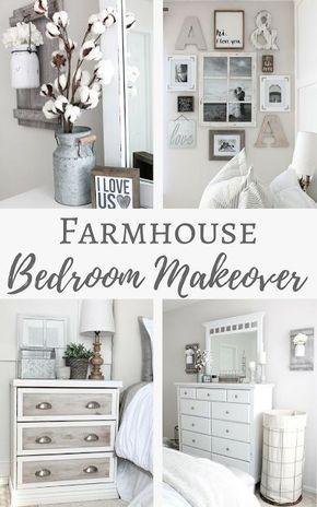 Simply Beautiful By Angela Farmhouse Master Bedroom Makeover Camere Da Letto Neutre Mobili Per Camera Da Letto Camera Da Letto Idee