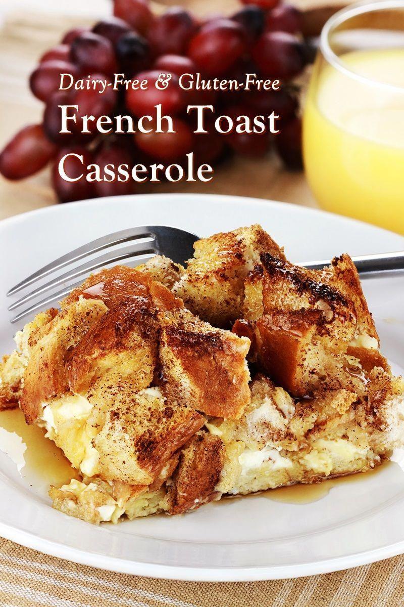Photo of Dairy-Free Gluten-Free Cinnamon-Raisin French Toast Casserole Recipe