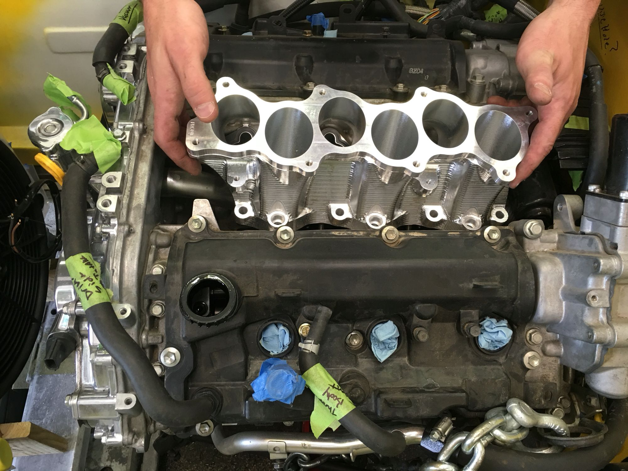 Vq37vhr Intake Manifold