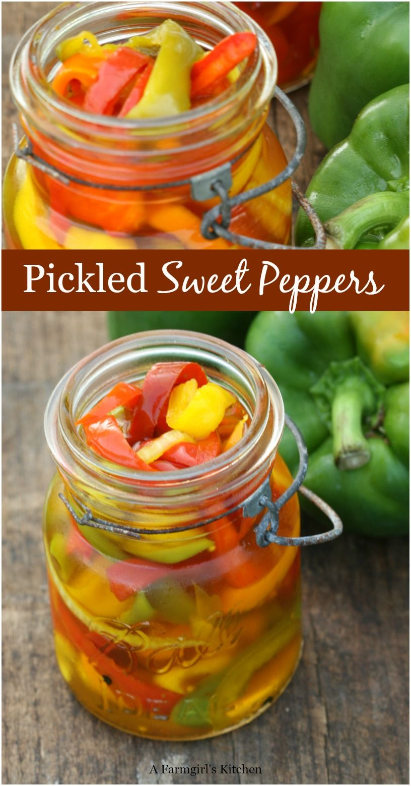 Pickled Sweet Peppers Stuffed Sweet Peppers Pickled Sweet Peppers Stuffed Peppers