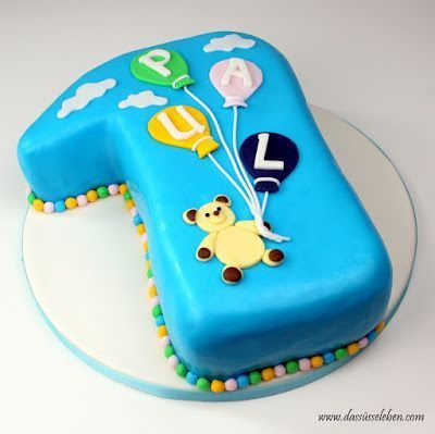 Torte Zum 1 Geburtstag Kinder Geburtstag Torte Geburtstag