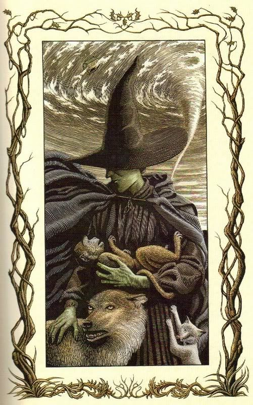 ✯ Wicked's Frontispiece Art by Douglas Smith ✯