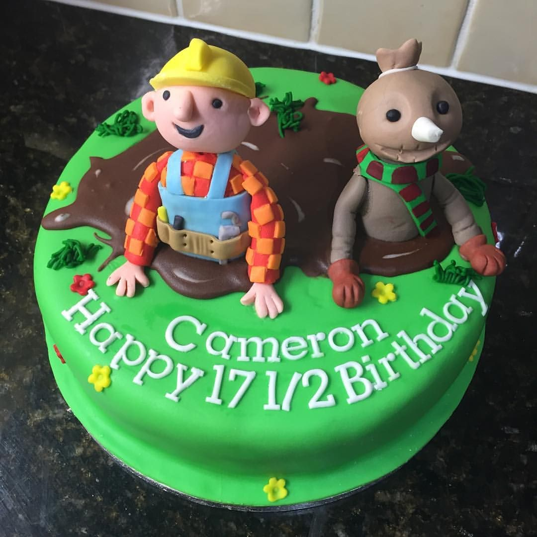 Bob the Builder and Spud cake Childrens characters Pinterest