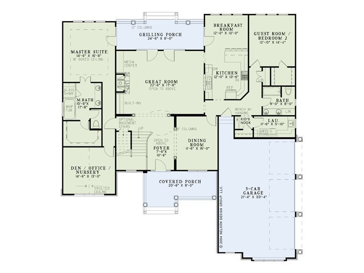 Best Entry Great Room Kitchen Breakfast Nook Layout Turn The 640 x 480