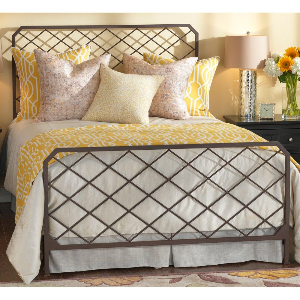 Kendall iron bed by wesley allen iron iron headboard and mattress