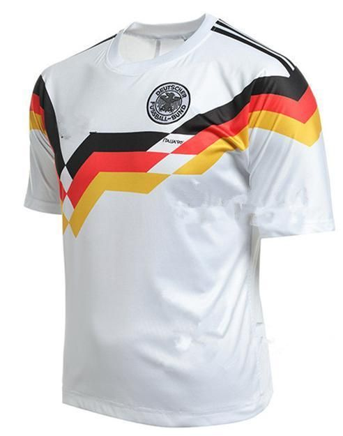 Retro Vintage 1990 Fifa World Cup Germany Soccer Home Jersey Ebay Fifa World Cup Retro Vintage Soccer