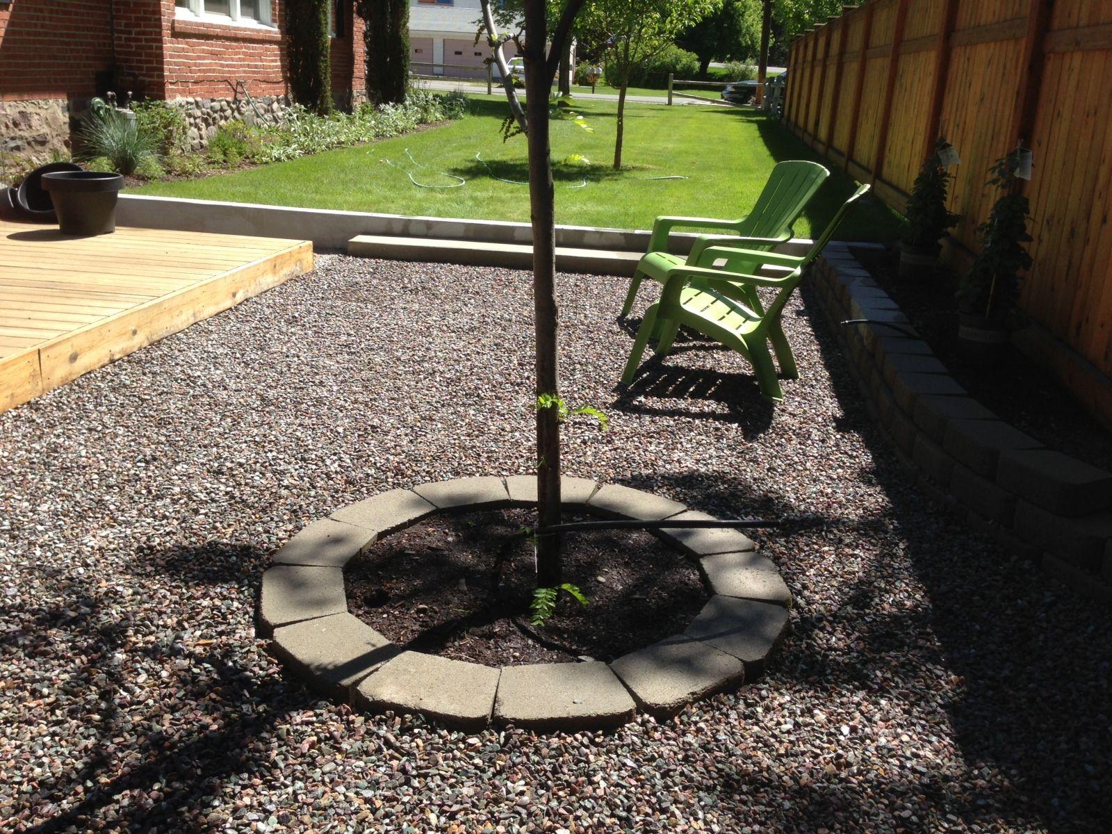crushed granite gravel patio terrasse ete pinterest crushed