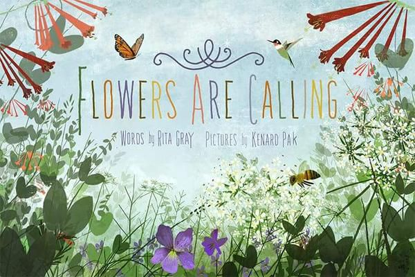 Flowers Are Calling By Rita Gray Advisable Book Flowers Spring Books Plant Book