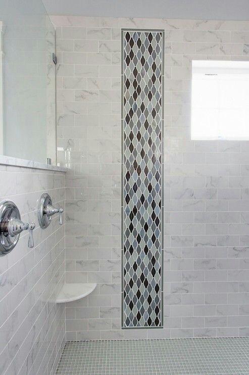 Vertical Marble Shower With Images Bathroom Shower Tile