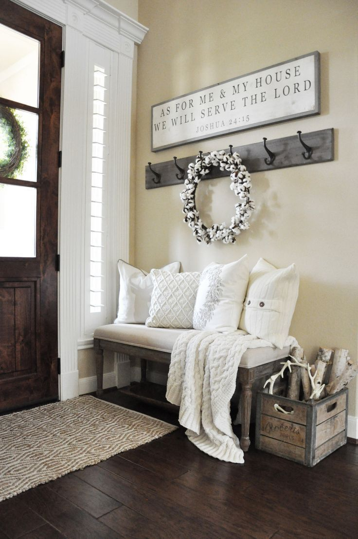 Cozying Up Your Home For Winter is part of Country house decor, Winter home decor, Home decor, Easy home decor, Cheap home decor, Home decor tips - We're nearly a month past Christmas already  Can you believe it ! Our Christmas décor has been down for a few weeks now, and I don't know about you, but for me after all the cheery Christmas decor comes down my house can feel a little empty  Let's be honest, depending on where yo