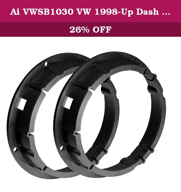 Ai VWSB1030 VW 1998-Up Dash Mounting Kit. Only The Finest