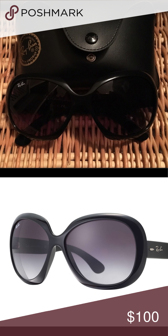 10a93d9894 Ray Ban Jackie Ohh ii Sunglasses (RB 4098) Products specifications Code  4098 Color Code 601 8G Eye 60 Bridge 14 Temple 135 Frames color BLACK Lens  Color ...