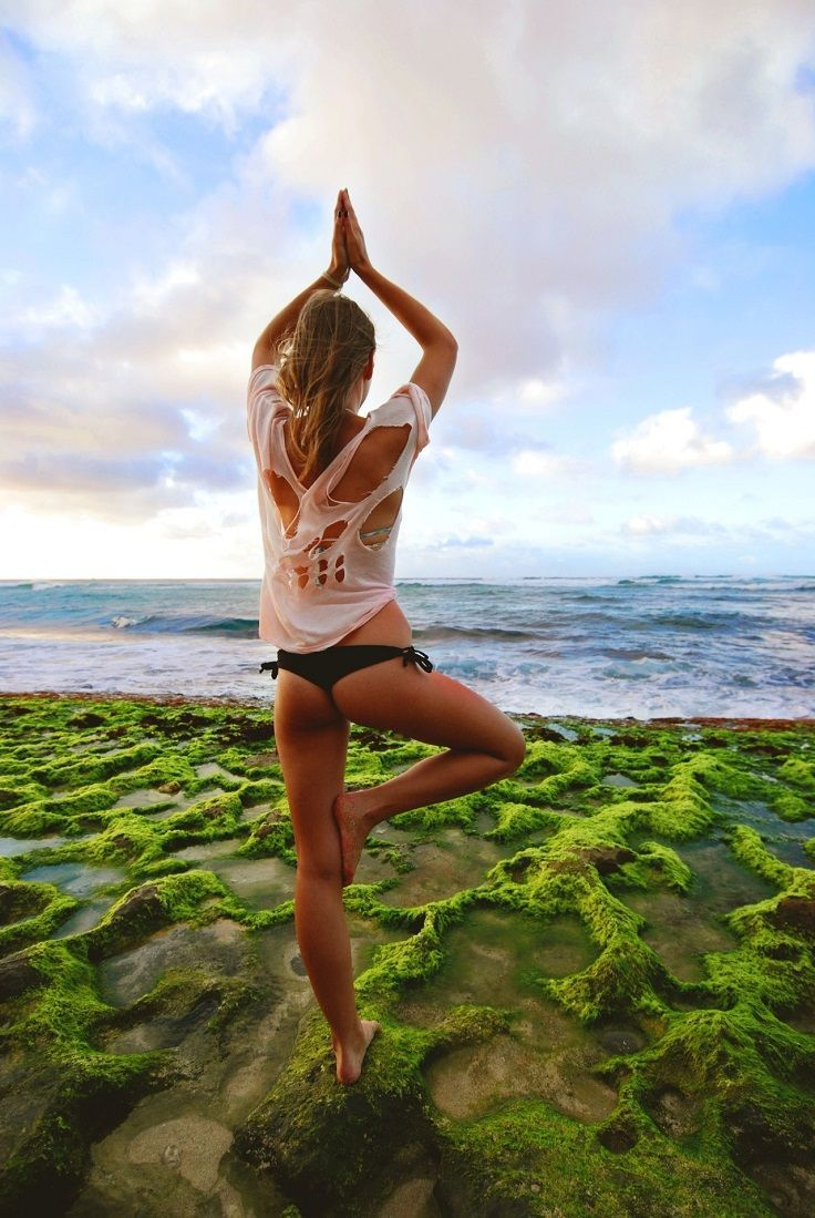 Top 39 Yoga Positions In Nature - Top Inspired  Yoga poses, Yoga