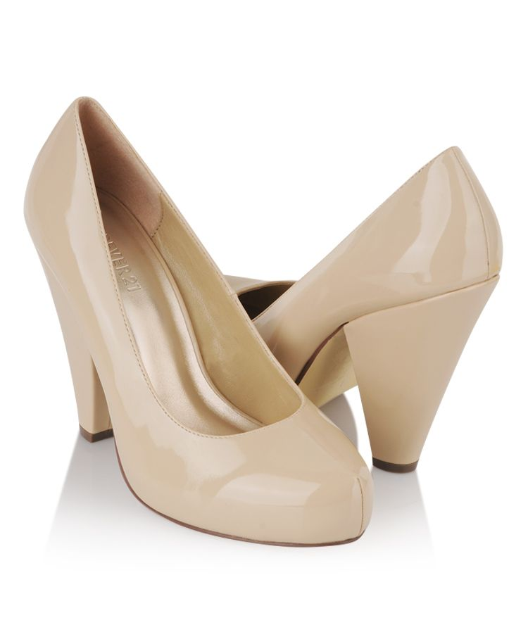 13afb5f0434 Patent Cone Heel Pumps