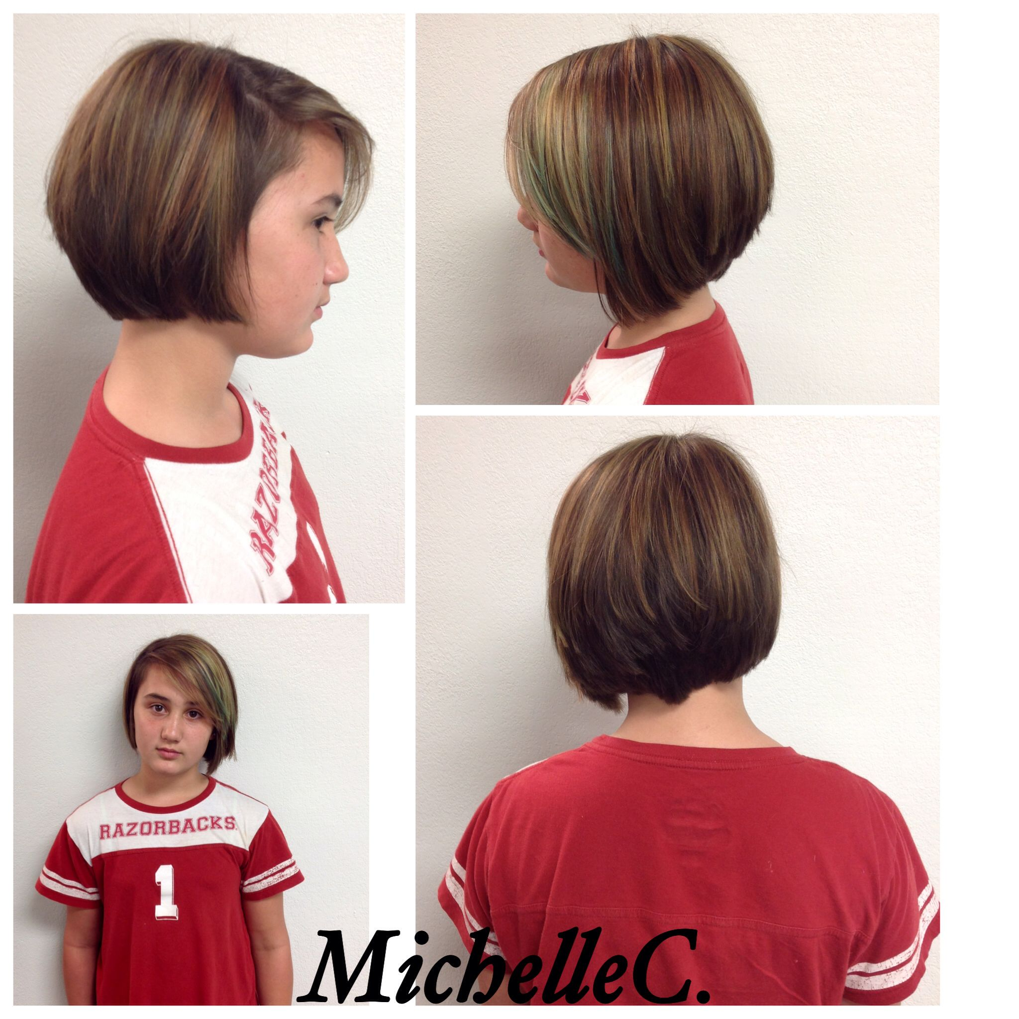 Triangular Graduation On A 9 Year Old Old Hairstyles 9 Year Old Hairstyles Bob Hairstyles