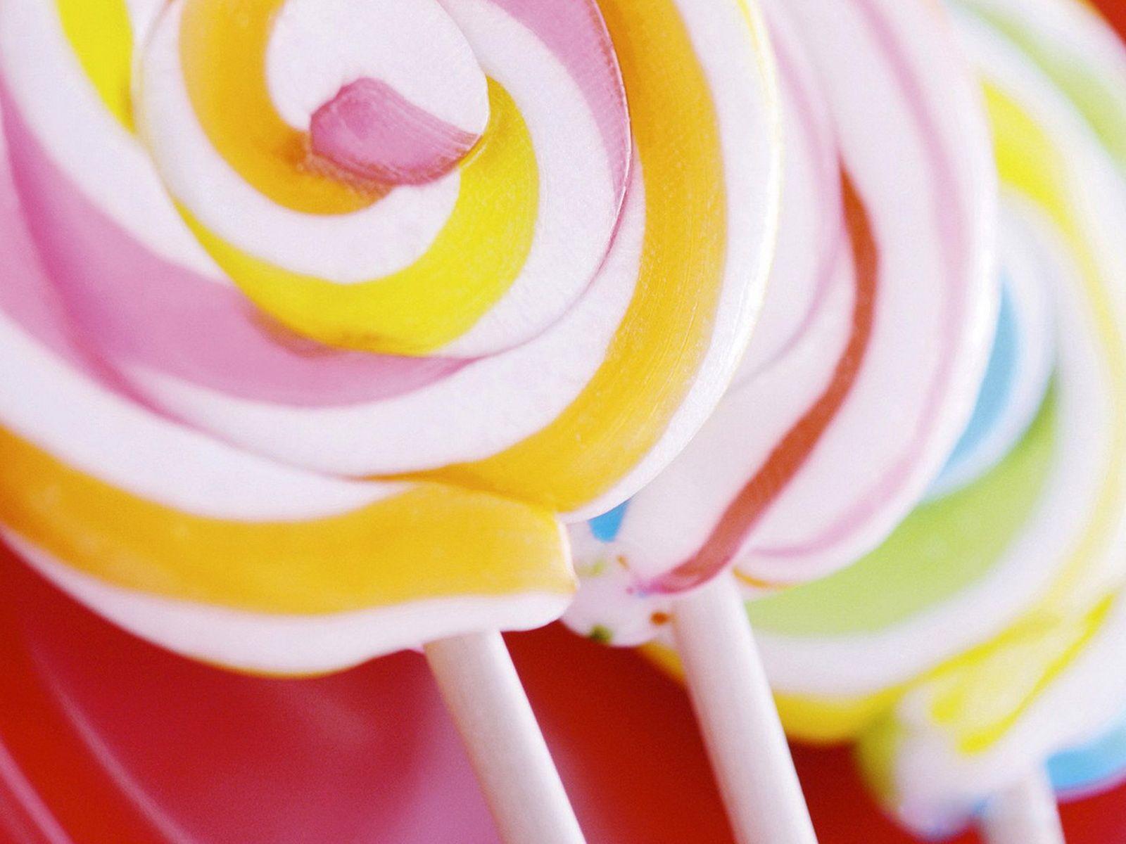 Candies Lollipop Confection Sweet Candy