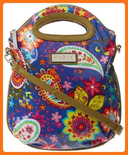 Hadaki Sling Pod Mini Tote,Cobalt Paisley,one size - Top handle bags ... d02bd47284