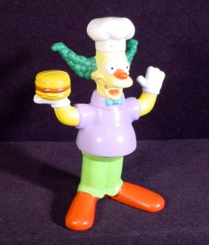 The Simpsons 2007 Talking Krusty The Clown Figure Toy 4 1 4 Burger King Krusty The Clown The Simpsons The Simpsons Show