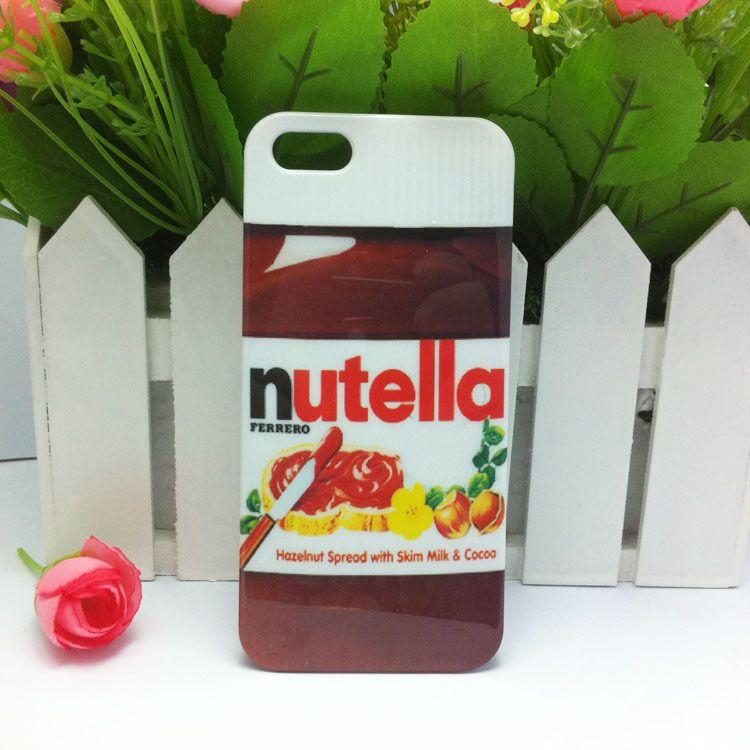 Funda para celular nutella