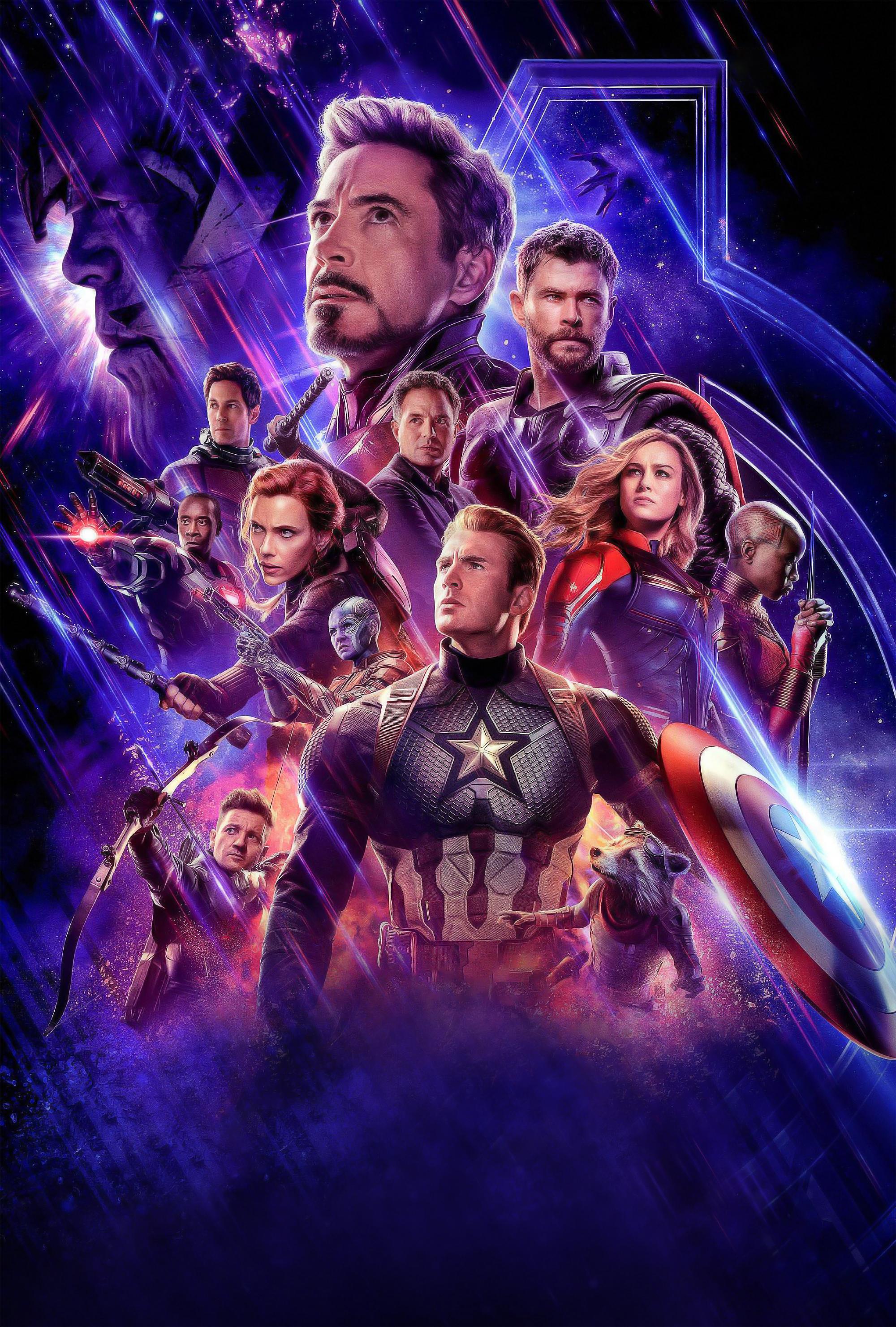 Avengers Endgame Poster Iphone Wallpaper