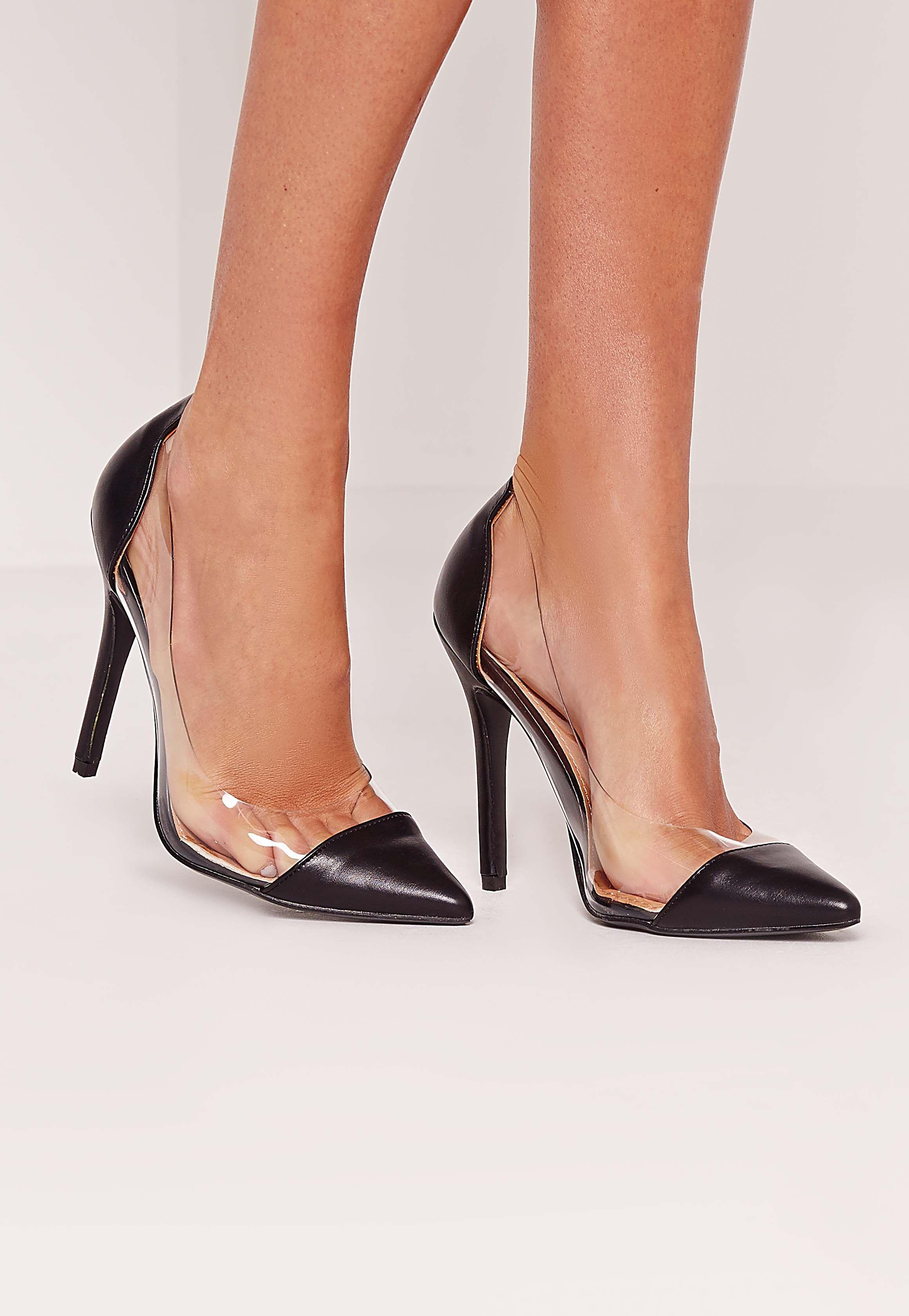 f10f9e0ed76e Missguided - Perspex court shoe black