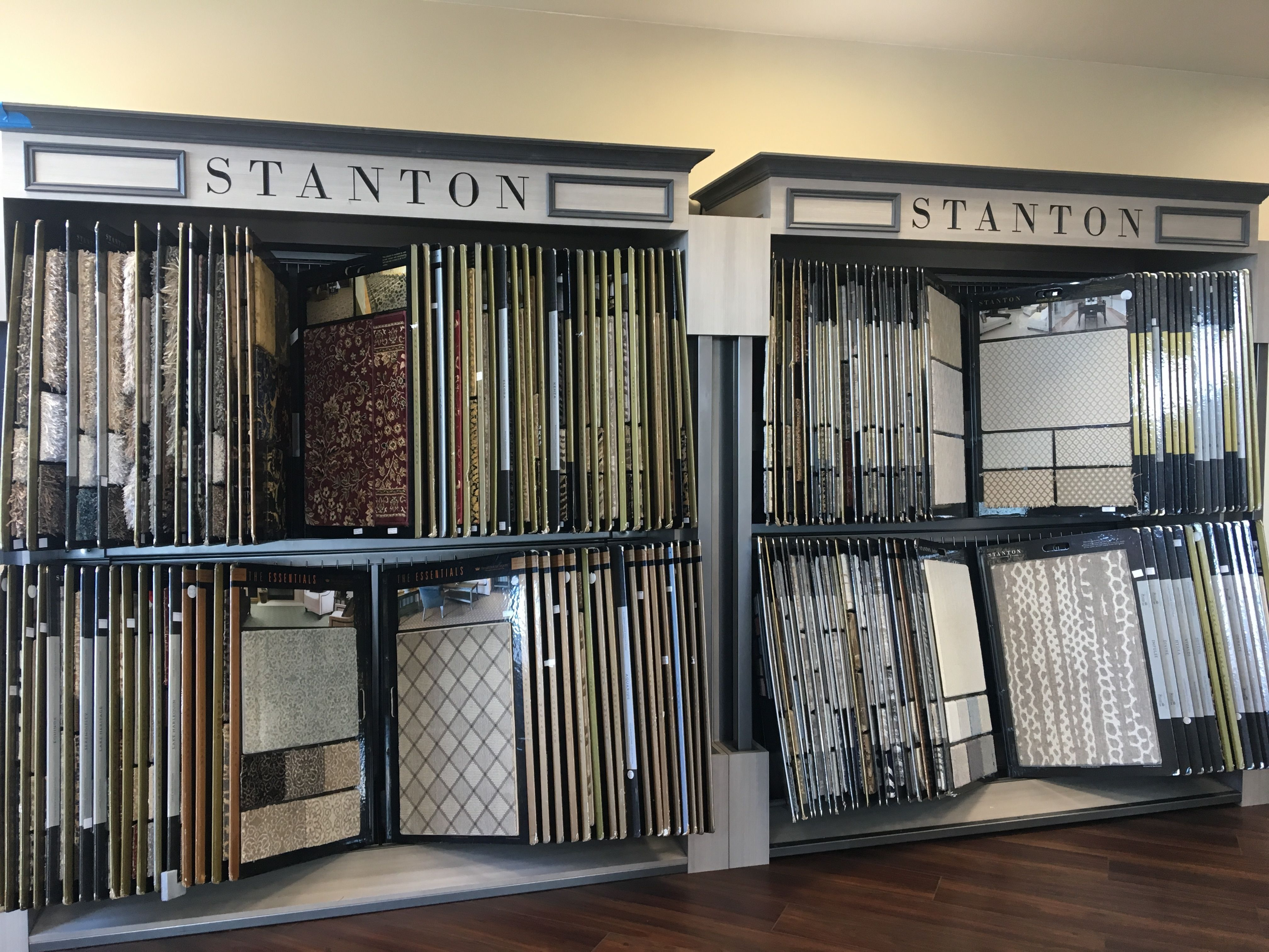 Stanton Carpet display in our showroom Carpet Time
