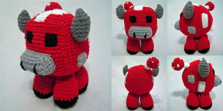 free Pattern Minecraft Mooshroom Amigurumi by i crochet things ...