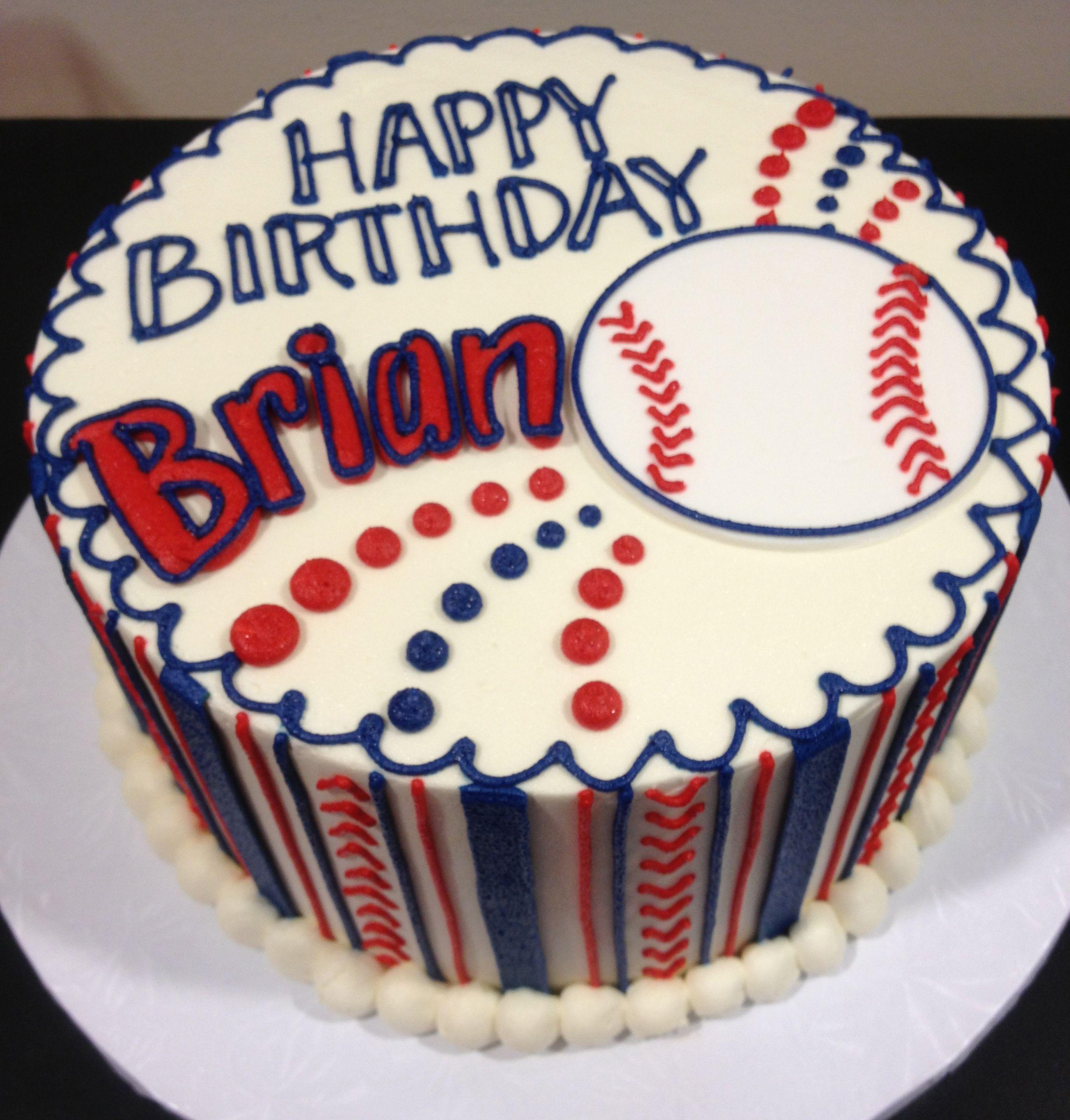 Classic cake collection birthday sheet cakes baseball