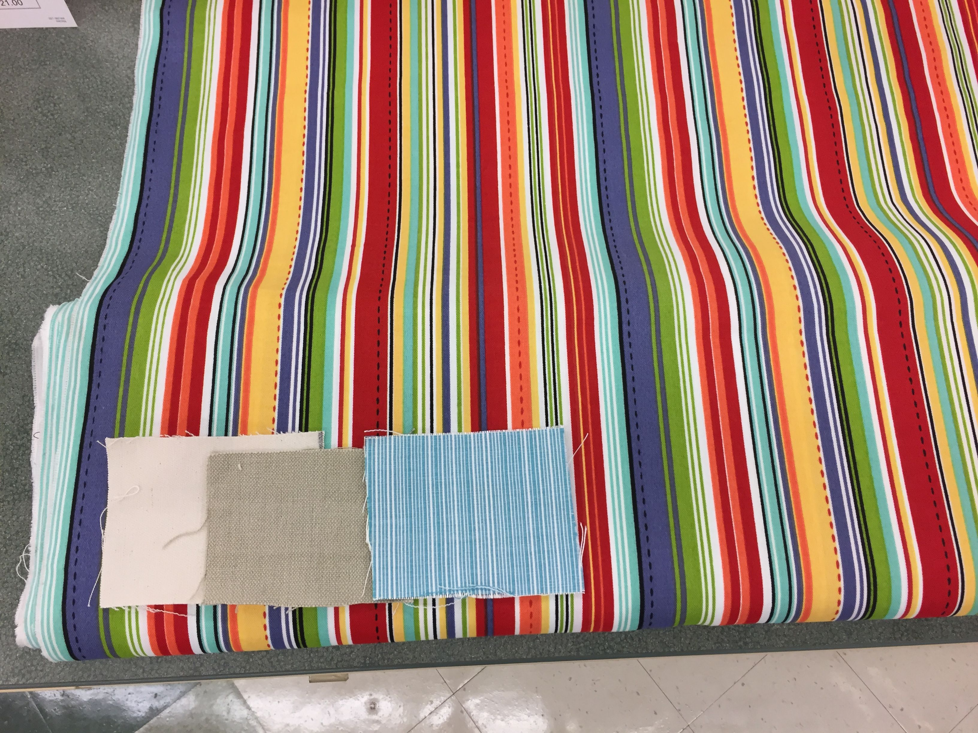 Idea fabric for bar stools(across the Bottom fabric swatches from ...