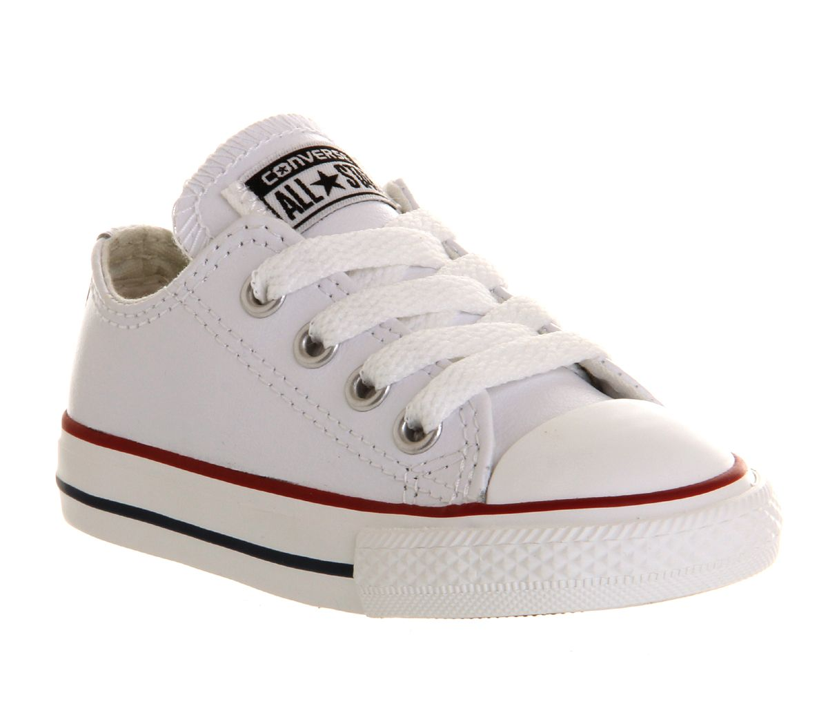 Converse All Star Low Infant Shoes Optical White Leather - Unisex